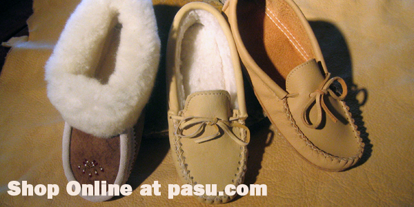 Shop a wide selection of moccasins, footwear, and more right here!