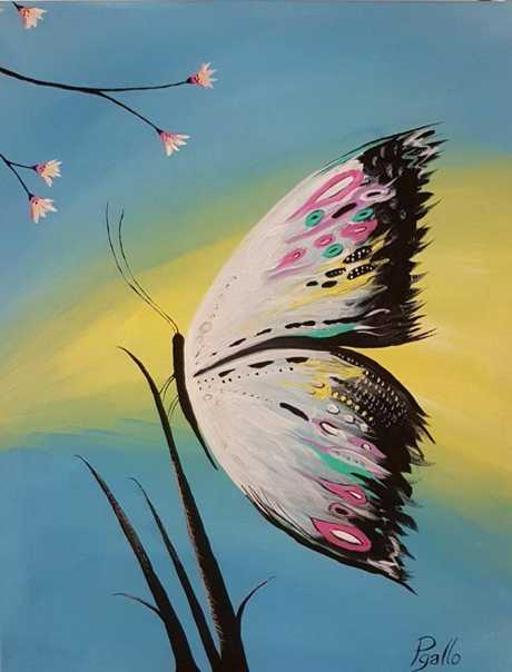 Pat Gallo butterfly